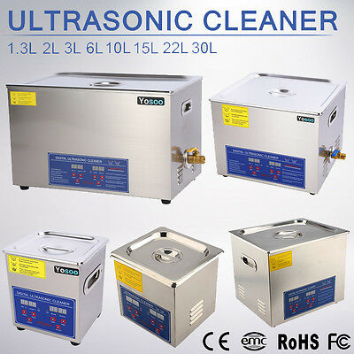 650ml-30L Ultrasonic Ultraschallreinigungsgerät Ultraschall Cleaner Reiniger TD9