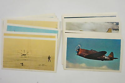 Sanitarium Picture & History Cards of Aeroplanes 1964 set of 40