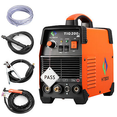 200A TIG Welder Stick TIG Welding Machine 220V ARC Inverter Combo 2 in 1 2T 4T