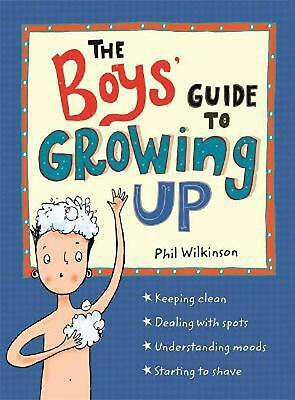 Boys' Guide to Growing Up by Phil Wilkinson Paperback Book Free Shipping!