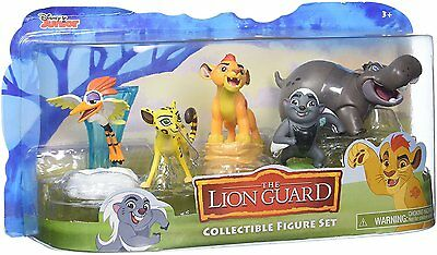Disney Lion Guard 5 Figures Pack Ages 3+ New Toy Jungle Boys Girls Kion Bird Ono