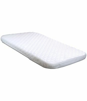 BabyPrem Baby Nursery Bedding Quilted Mattress Crib Cradle 83 x 50cm Next To Me