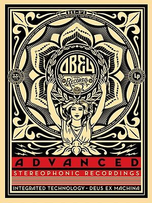 Shepard Fairey・Lotus Woman・S/N/450・2013 RARE Signed Print not Target Exceptions