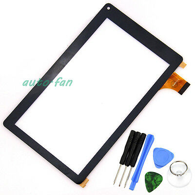 "Touch Screen Digitizer Glass For 7"" RCA Voyager RCT6773W22 WJ609-V3.0 Tablet Fu8"