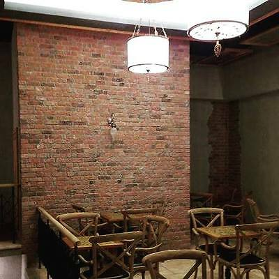 Cottage Red Brick Slips, Wall Cladding, Feature Wall, Brick Tiles SAMPLE