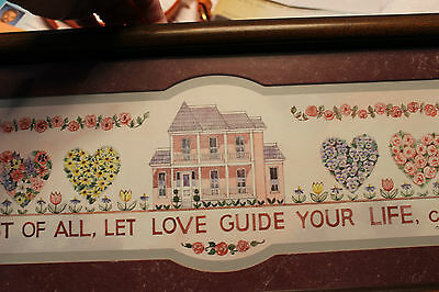 Home interior Picture Most of all let love guide your life  Bible verse