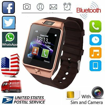 2017 Waterproof Bluetooth Smart Watch SIM Phone Mate For iPhone Samsung Android