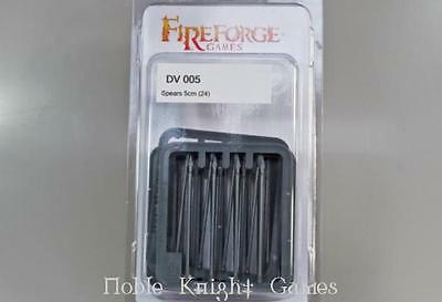 Fireforge Deux Vult 28mm Spears (24) Pack MINT