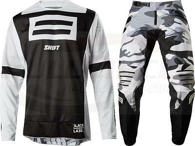 Shift MX Racing 3lack 20th LE G.I. Fro Jersey & Pant Combo ATV Off Road Gear