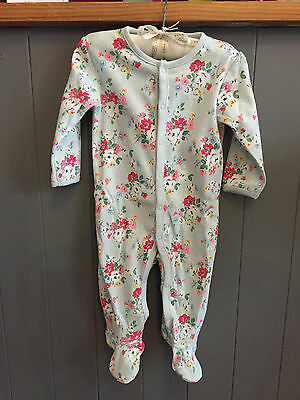 **Cath Kidston** Baby Sleepsuit in Clifton Rose - BNWT