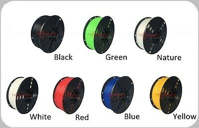 TPE Flexible 3D Printer Filament 1.75mm / 3.00mm Quality Torwell 1kg (7 colours)