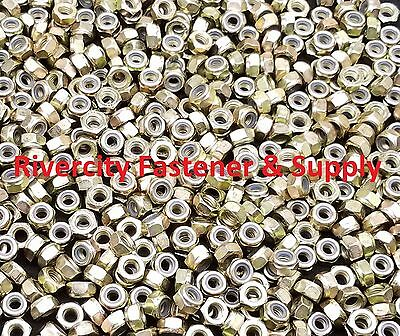 (50) M6-1.0 Metric Coarse Thread Lock Nut 6mm Nuts With 10 Hex nylock nuts 6mm