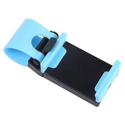 Mobile phone holder for baby carriage - Blue G5T3