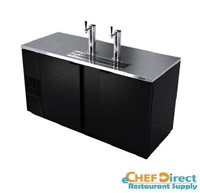"""Asber ADDC-68 69-1/2"""" Two-section Direct Draw Beer Cooler"""