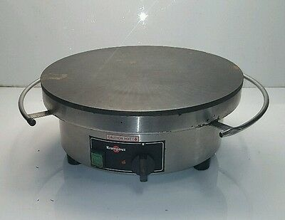 "Krampouz 15 1/2"" Round Electric Cast Iron Crepe Maker Model # CEBIF4"