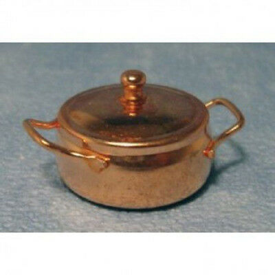 Dolls House Miniature 1:12th Scale Copper Cooking Pot