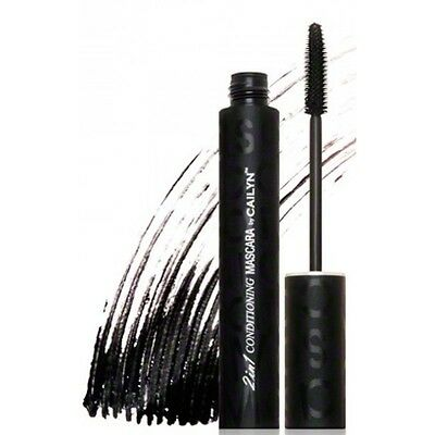 NEW Cailyn Cosmetics Semi-Waterproof 2-In-1 Conditioning Black Mascara 8ml
