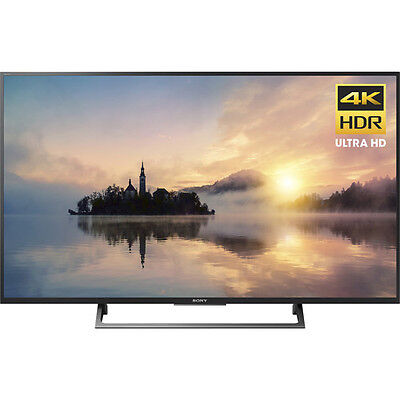 "Sony 49"" 4K Ultra HD HDR Smart LED TV 2017 Model with 3 x HDMI & 3 x USB Input"