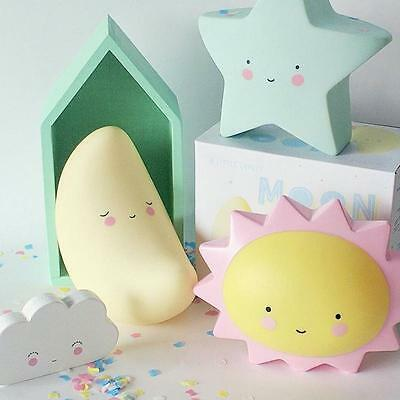 Creative LED Star Night Light Kid Room Decorations Cute Lamp Nightlight Decor
