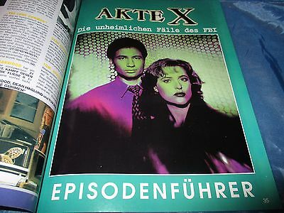 Akte X  /  The X - FILES , TV - FILM - Buch / Magazin 1996 , Fantasy / Mystery