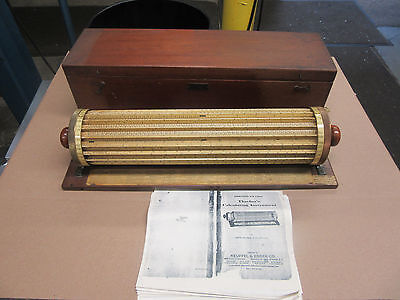 Antique Thacher Calculating Instrument (Keuffel & Esser)