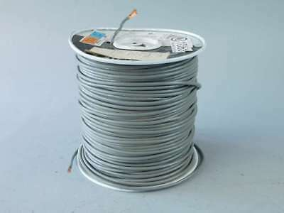 495ft Spool of 12AWG Gray, Stranded, Machine Tool Wire EWR003043 - NEW Surplus!