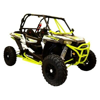 Dragonfire Racing - 01-1128 - RacePace Nerf Bars - Lime Squeeze - 2-Seat RZR's
