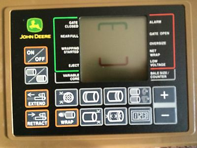 John Deere Baler Monitor And Harness 567 568 569 Baletrak Pro BE32448