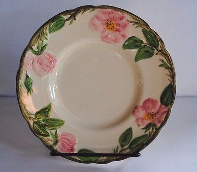 """Vintage FRANCISCAN DESERT ROSE 6 1/2"""" BREAD and BUTTER PLATE ~ USA"""