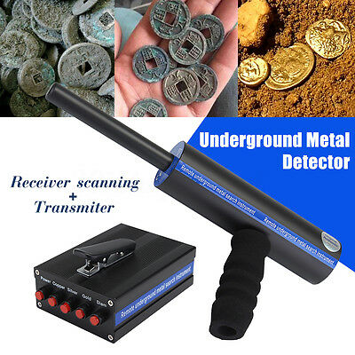 Multi-function Long Range Underground Gold Metal Diamond Detector 3D + CASE