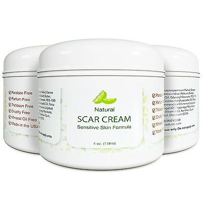 Scar Cream Stretch Mark Removal Treatment  + Acne + After Surgery 100% NATURAL