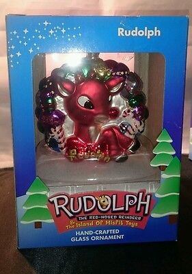 RUDOLPH The Reindeer & The Island of Misfit Toys Ornament Round 2002 BRASS KEY