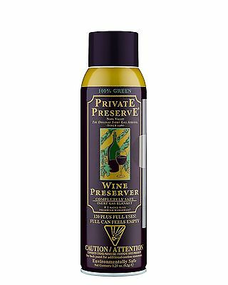 Private Preserve Wine Spray | Wine Preserver Prevents Oxidation of Wine x 12