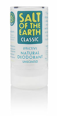 SALT OF THE EARTH NATURAL CRYSTAL ROCK DEODORANT 90g - Natural