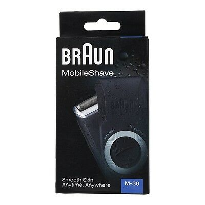 Braun M-30 mobile shaver new free shipping