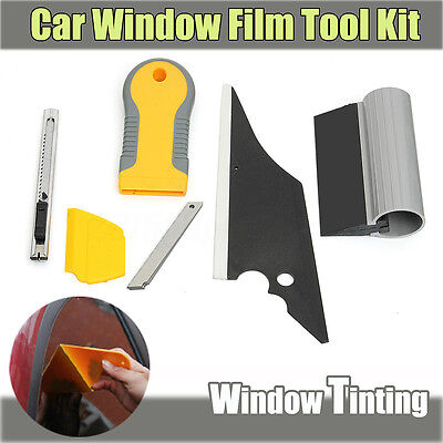Car Window Wrapping Tint Tools Kit for Vinyl Film Tinting Squeegee Installation