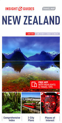 Insight Travel Map New Zealand (Insight Travel Maps), Guides, Insight, New Book