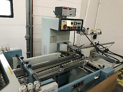MBO T49 Folder Excellent condition, Bearings, and new Belts