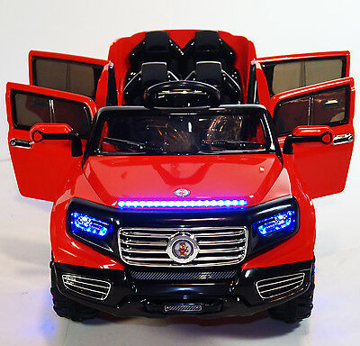 track 4 doors and 2 seats kids ride on battery powered electric car with remote