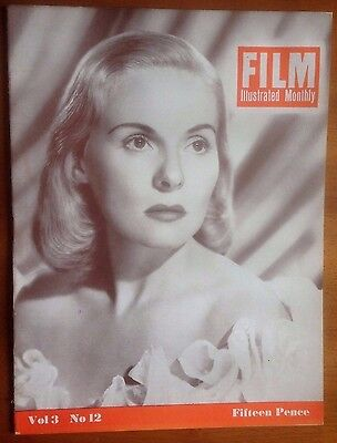 FILM ILLUSTRATED MONTHLY Vol 3 No. 12 Gary Cooper, Frederic March, John Mills