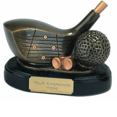 Golf Driver Trophy - Longest Drive - Nearest The Line   *FREE ENGRAVING*