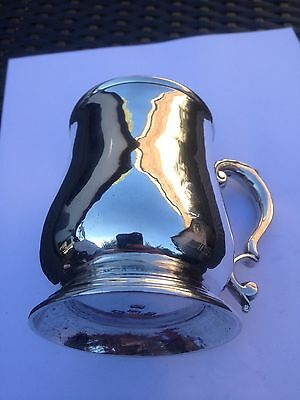 Georgian Silver Baluster Mug, Hallmarked - London 1743
