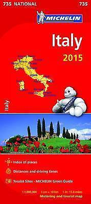 Italy 2015 National Map 735 by Michelin Editions des Voyages - SPECIAL PRICE