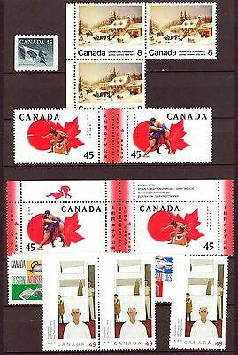 Canada - small lot of MNH stamps - FV $5.76