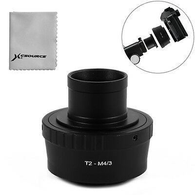 "1.25"" Telescope Mount + T T2 Lens Adapter for Panasonic GM5 Micro 4/3 M4/3 DC691"