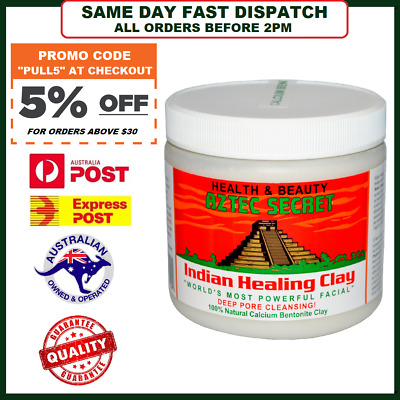 AZTEC SECRET INDIAN HEALING CLAY - World's Most Powerful Facial Pore Cleanse!
