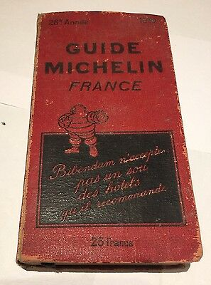 Beau-Guide-Rouge-Michelin-France-De-1932