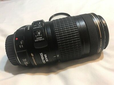 """""""Mint"""" Canon EF 70-300mm F/4-5.6 IS II USM Lens from JAPAN"""