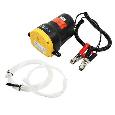 DC 12V & 60W Diesel Oil Fluid Transfer Extractor Pump Electric Suction for Car