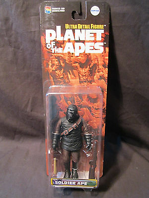 Medicom Planet of the Apes Soldier Ape Action Figure with Carbine Rifle